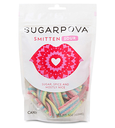 SUGARPOVA Smitten sour gummy candy 142g
