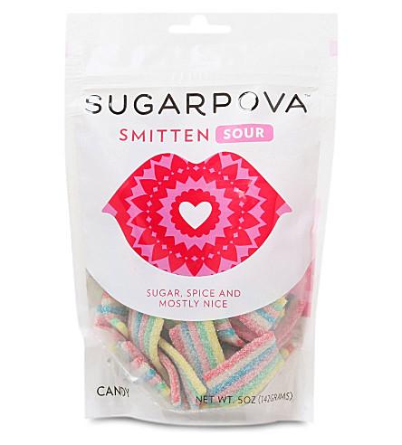 SUGARPOVA Smitten sour gummy candy 142g