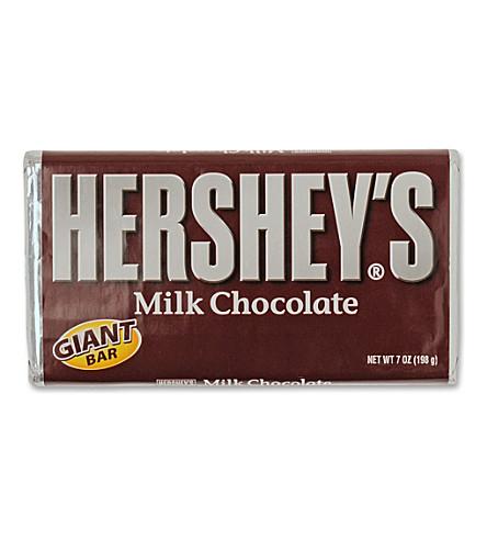 HERSHEY'S Giant milk chocolate bar 198g