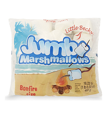 LITTLE BECKY Jumbo marshmallows 460g