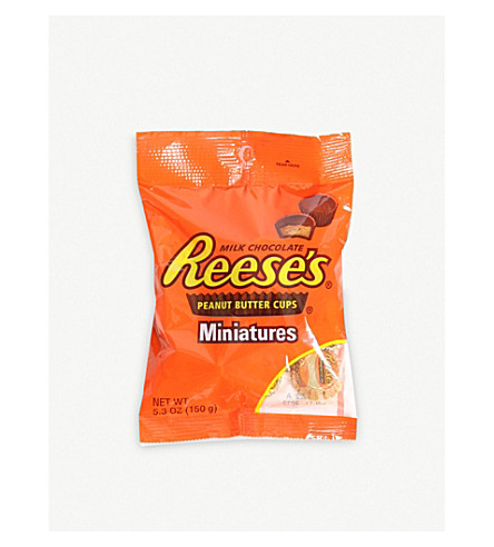 HERSHEY'S Reeses mini peanut butter cups 150g