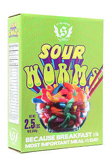 IT'SUGAR Sour Worms cereal box 2000g
