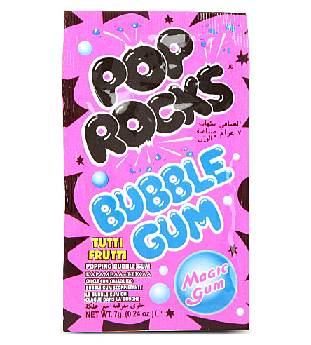 POP ROCKS Popping bubble gum 7g