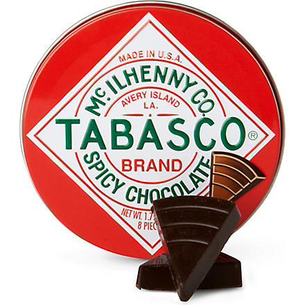 TABASCO Tabasco spicy dark chocolate wedges 50g
