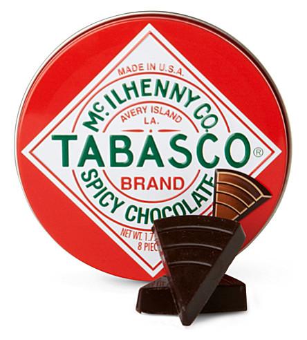 TABASCO Tabasco spicy dark chocolate wedges 50g