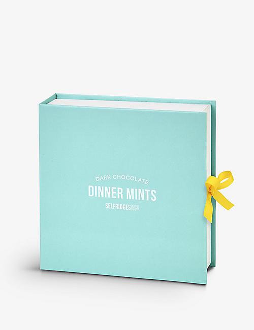 SELFRIDGES SELECTION Dark Chocolate Dinner Mints 125g