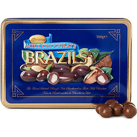Chocolate covered Brazil nuts 300g