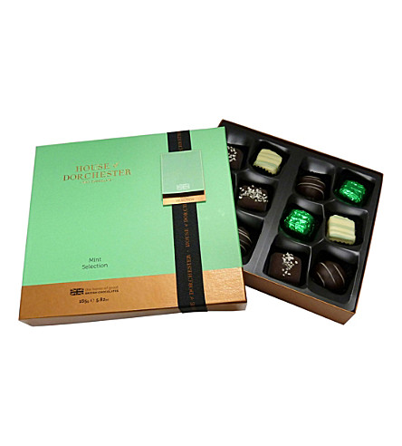 HOUSE OF DORCHESTER Mint chocolate selection box