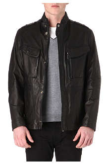 HUGO BOSS Nico leather jacket