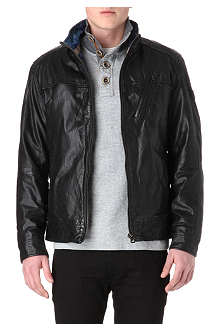 HUGO BOSS Jips Thermore leather jacket