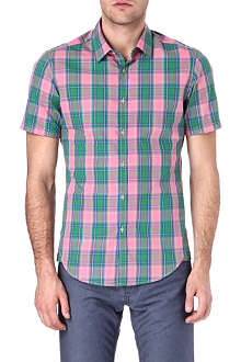 HUGO BOSS Bastiano checked shirt