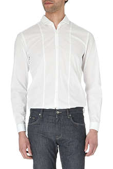 HUGO BOSS Pancho slim-fit single-cuff shirt