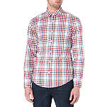HUGO BOSS Ronny summer-check shirt