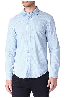 HUGO BOSS Cliff Madder-print shirt