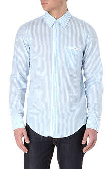 HUGO BOSS Cielo striped single-cuff shirt