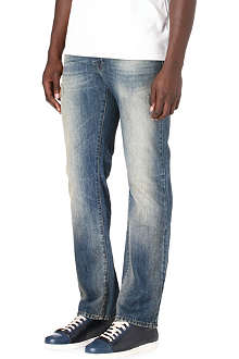 HUGO BOSS Orange 25 regular-fit straight jeans