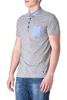 HUGO BOSS Patch-pocket polo shirt