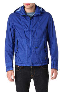 HUGO BOSS Overdyed nylon jacket
