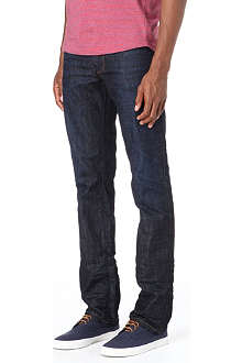 HUGO BOSS Orange 24 regular-fit tapered-leg jeans