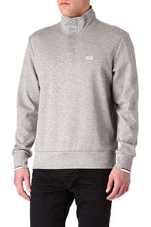 HUGO BOSS Half-button sweatshirt