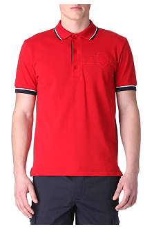 HUGO BOSS Patio crest-logo polo shirt
