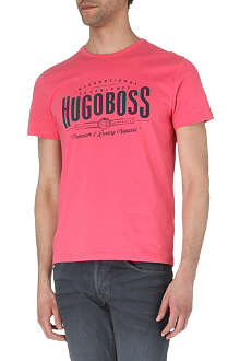 HUGO BOSS Big branded t-shirt