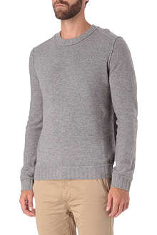 HUGO BOSS Crew neck lambswool jumper