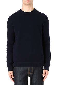 HUGO BOSS Lambswool crew neck jumper