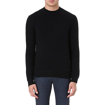 HUGO BOSS Adwino wool jumper (Black