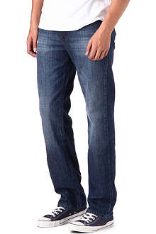 HUGO BOSS Comfort washed light jeans