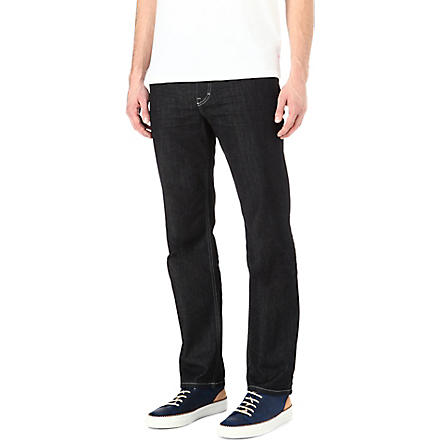 HUGO BOSS Alabama comfort-fit straight jeans (Rinse