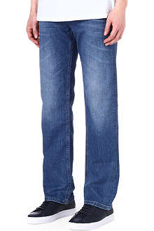 HUGO BOSS Alabama regular-fit straight jeans
