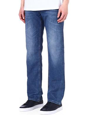HUGO BOSS Alabama regular-fit straight jeans