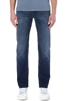 HUGO BOSS Alabama comfort-fit straight jeans