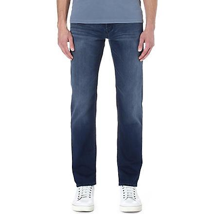 HUGO BOSS Alabama comfort-fit straight jeans (Indigo
