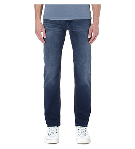 HUGO BOSS Alabama comfort-fit straight jeans (Indigo