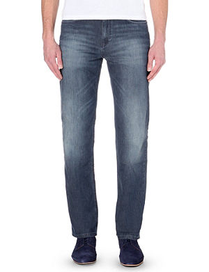HUGO BOSS Alabama relaxed-fit straight jeans