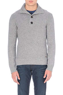 HUGO BOSS Chunky knitted jumper