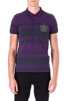 HUGO BOSS Ancona striped polo shirt