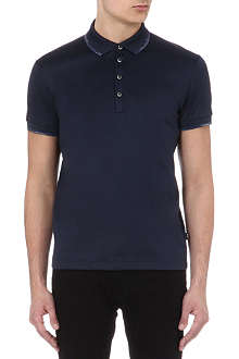 HUGO BOSS Acona jacquard polo shirt