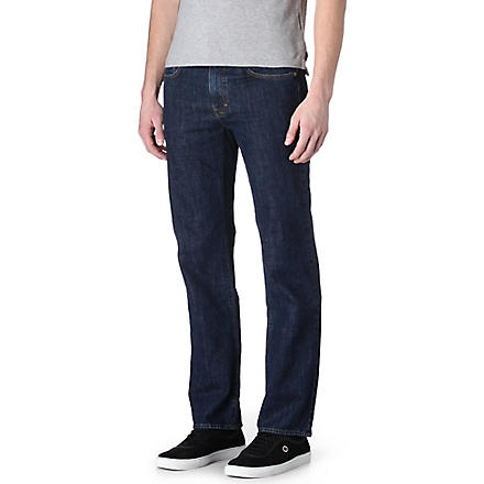 HUGO BOSS Kansas regular-fit straight jeans (Indigo