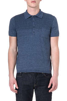 HUGO BOSS Artino knitted polo shirt