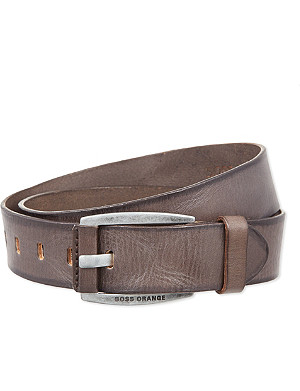 HUGO BOSS Branded leather belt