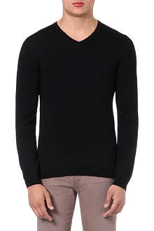 HUGO BOSS Baku merino wool jumper