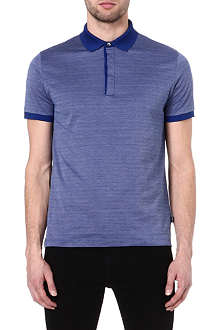 HUGO BOSS Banfi herringbone polo shirt