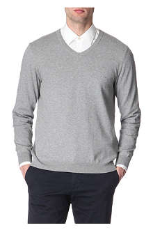 HUGO BOSS Barnaba v-neck jumper