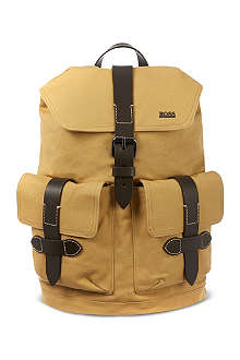 HUGO BOSS Canvas backpack