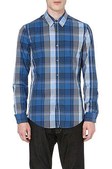 HUGO BOSS Bissvil checked shirt