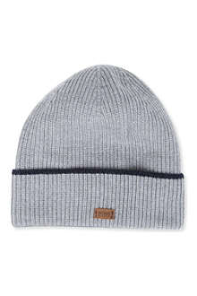 HUGO BOSS Bloori ribbed beanie
