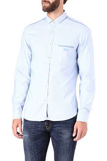 HUGO BOSS Single-cuff Oxford shirt